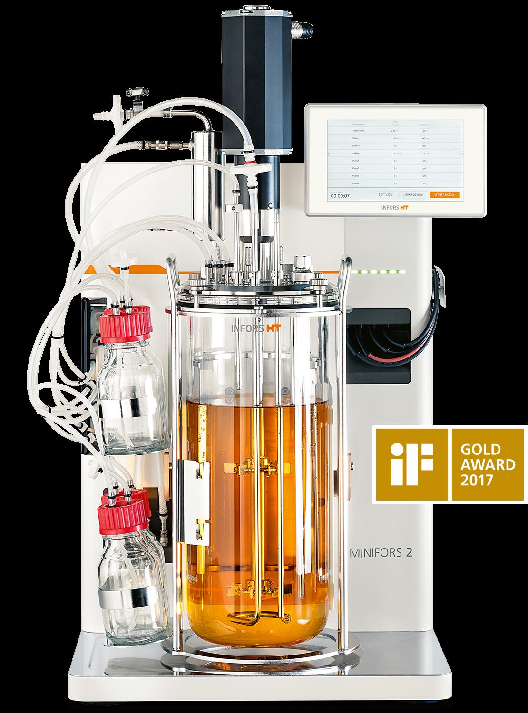 Minifors bioreactor Pichia pastoris