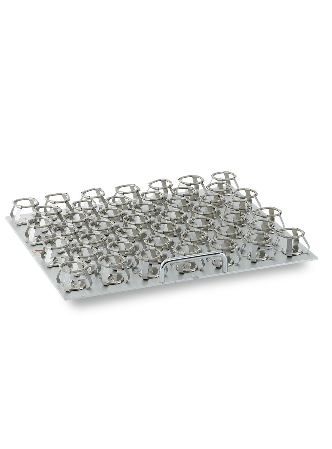 Fixed-configuration trays