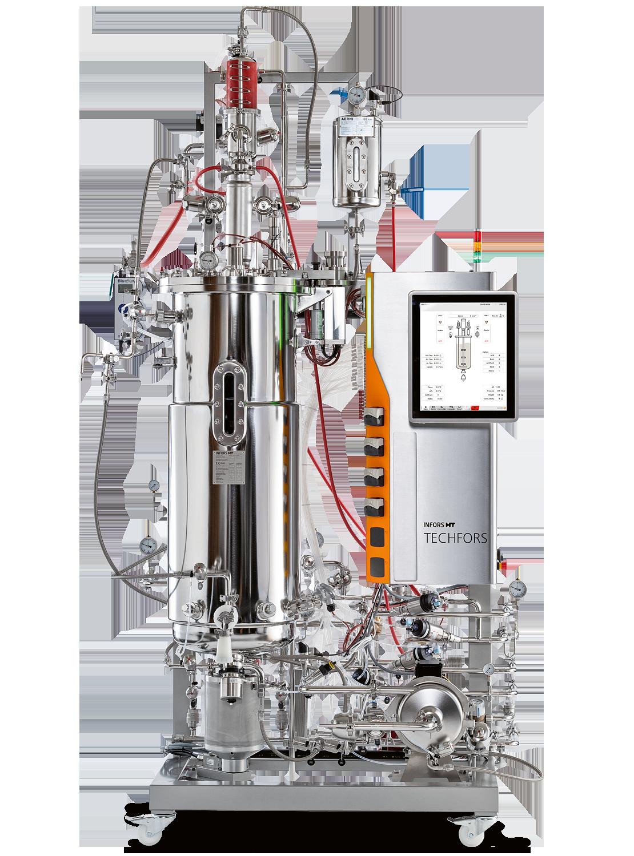INFORS HT lanza la nueva versión del biorreactor piloto Techfors 03. Oct 2019