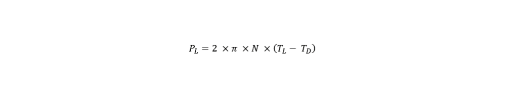 Power Input Formel