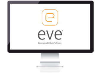 screen with eve logo