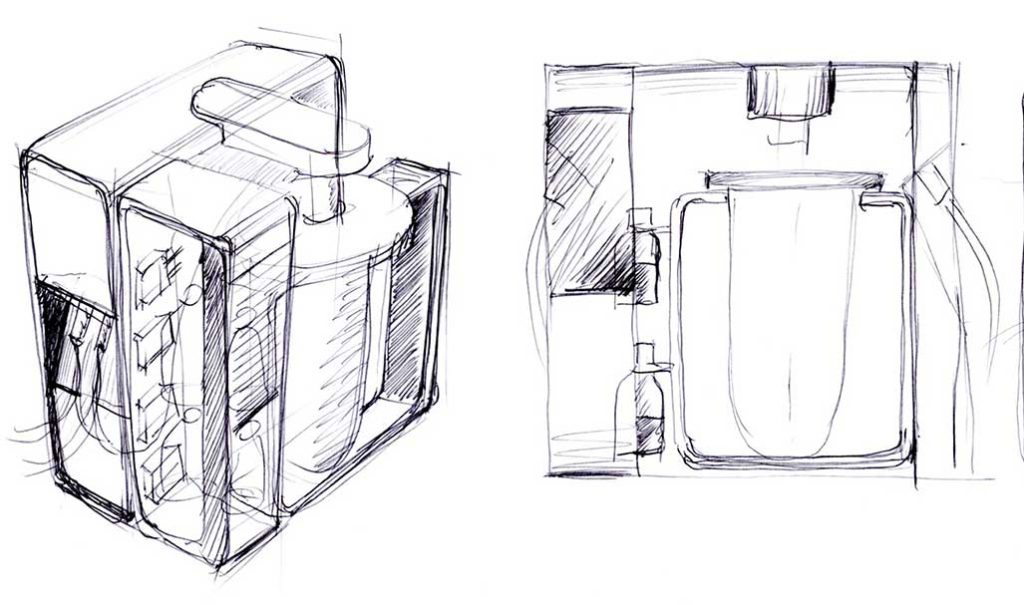 Illustration of a stirred tank bioeactor